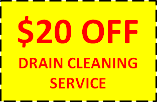 $20 OFF DRAIN CLEANING