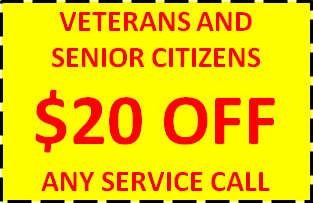 $20 OFF VETERANS SENIORS